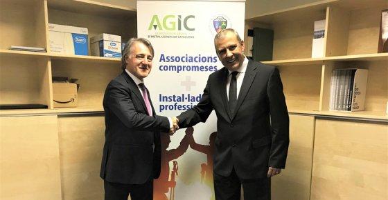 Los instaladores catalanes podrán tramitar sus certificados digitales desde los Gremios de AGIC-FERCA