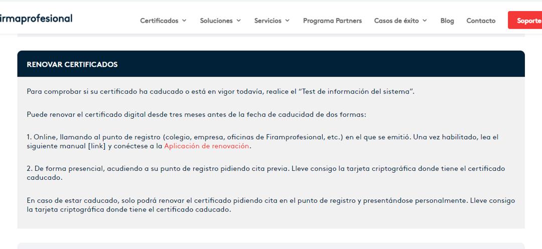 ¿Cuándo he de renovar mi certificado digital?