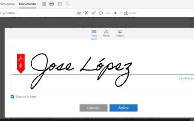 Te enseñamos a cambiar el aspecto de tu firma en un documento PDF