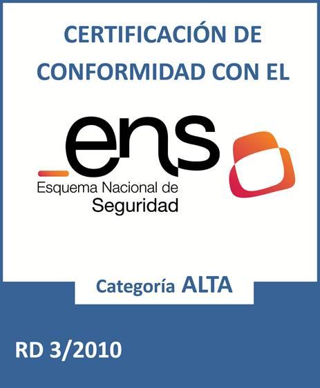Firmaprofesional, el único prestador cualificado de servicios de confianza, con el certificado ENS de nivel alto