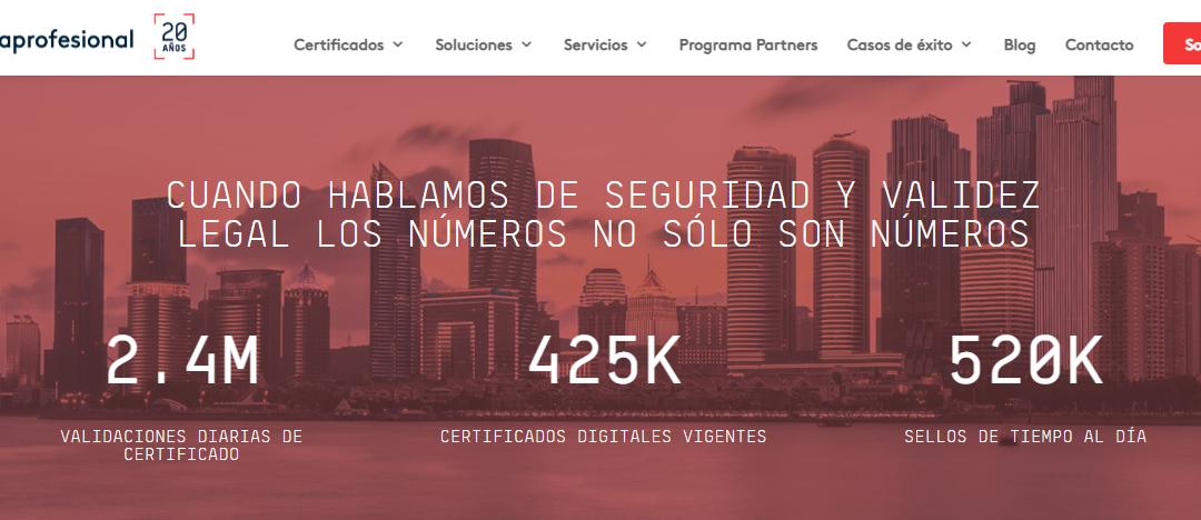 Firmaprofesional celebra su 20 aniversario liderando el sector de la firma electrónica y la certificación digital en España
