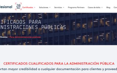 El Gobierno de Canarias supera los 15.000 certificados de Firmaprofesional, en dos años de colaboración